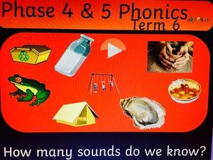 PHASE 4 and 5 PHONICS FLIPCHART