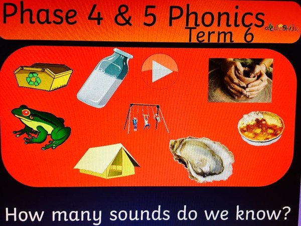 PHASE 4 and 5 PHONICS FLIPCHART