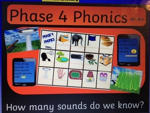 PHASE 4 PHONIC SLIDES INCLUDES REVISION OF AR
