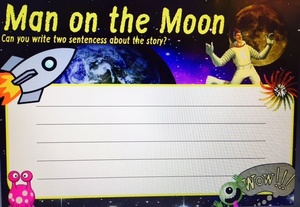 MAN ON THE MOON ACTIVITY - SET 2