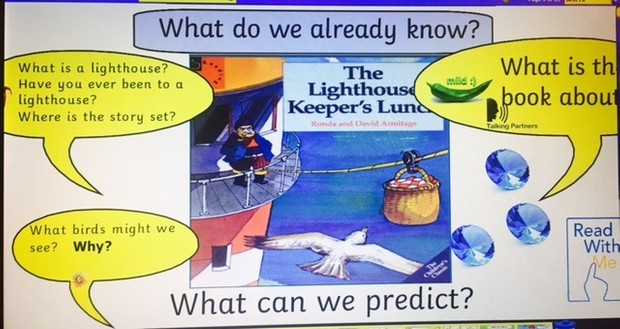 The Lighthouse Keeper's Lunch 2017