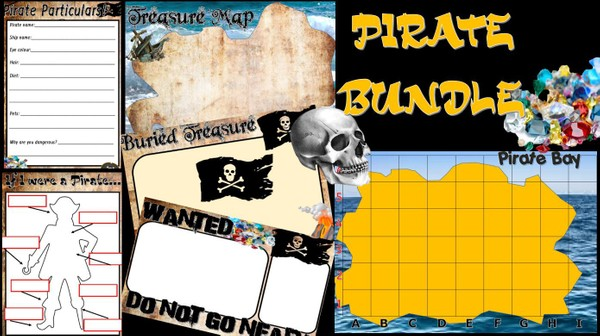PIRATE ADVENTURE ACTIVITIES