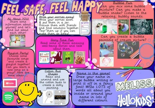 FEEL SAFE, FEEL HAPPY