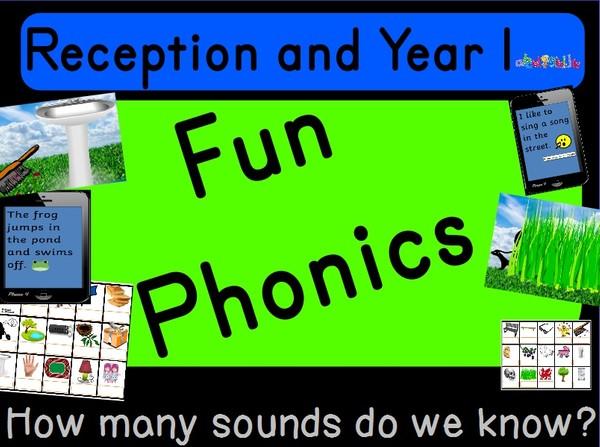 RECEPTION AND YEAR 1 PHONICS FLIPCHART - U AND EA