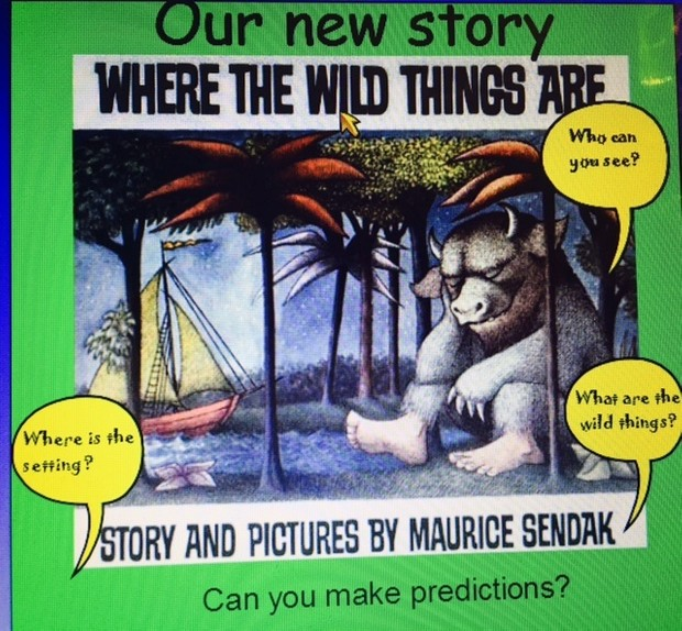 Where the Wild Things are! Weekly planning slides