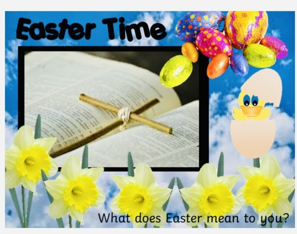 EASTER AND SPRING FLIPCHART