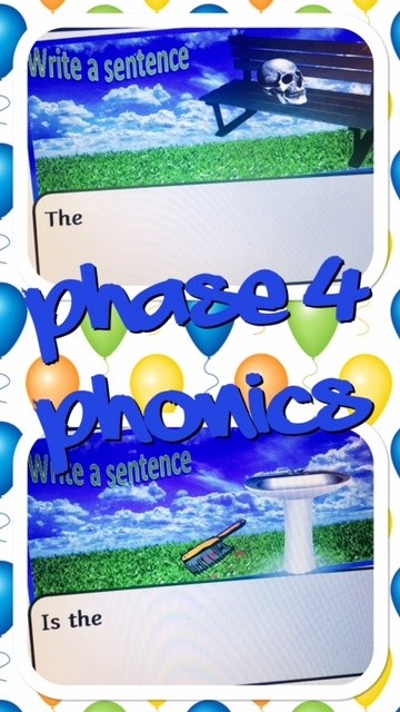 Phase 4 Phonic spelling and sentences