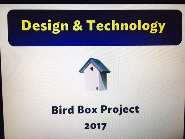 Design and technology Bird Box Project