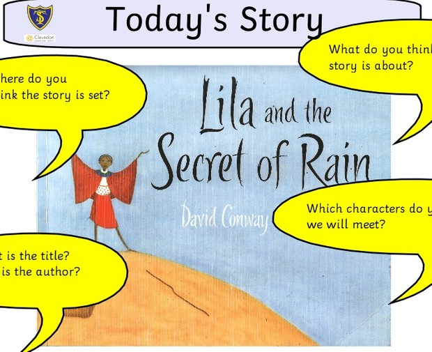 3 X ACTIVITIES FOR LILA AND THE SECRET OF RAIN - FREE
