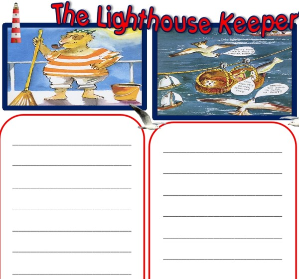 6 LIGHTHOUSE KEEPER'S LUNCH ACTIVITIES