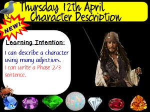 JACK SPARROW CHARACTER DESCRIPTION