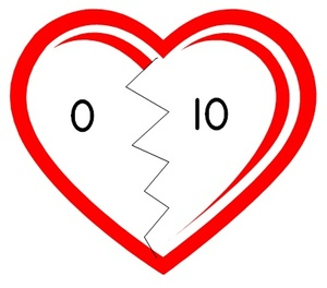 BROKEN HEARTS - NUMBER BOND PUZZLES