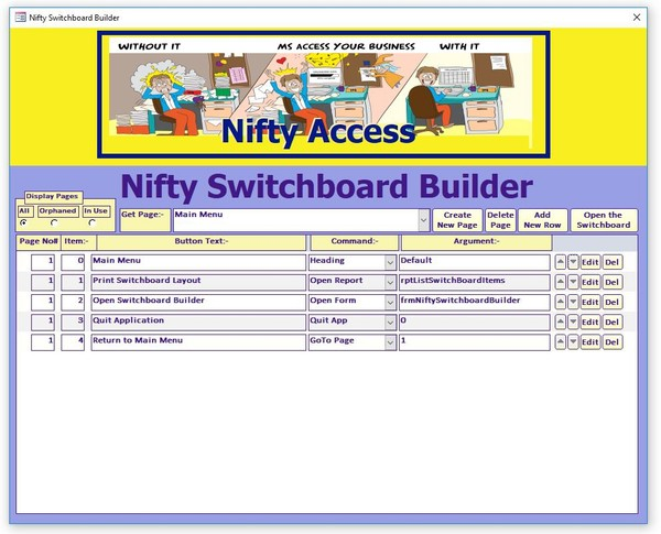 Nifty Switchboard Builder