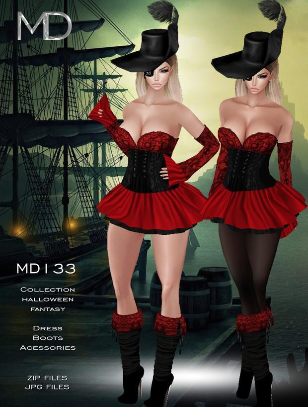 MD133 - Texture Halloween