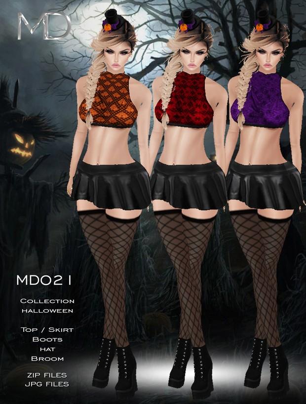 MD021 - Texture - Halloween
