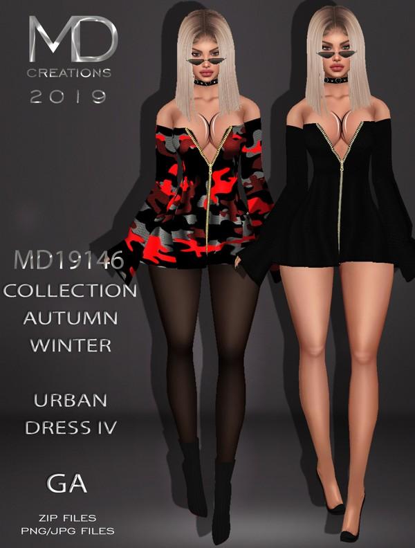 MD 19146 - Urban Dress IV - Autumn/Winter Collection - IMVU - Textures