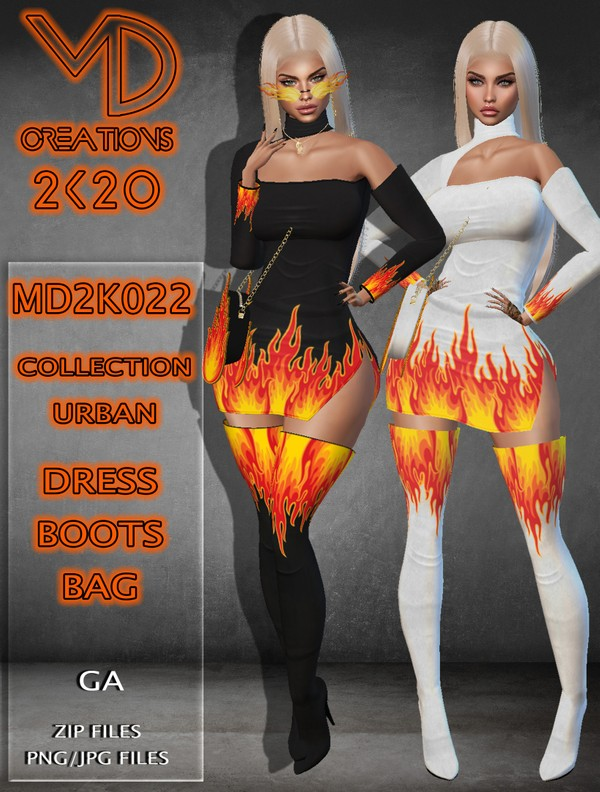 MD 2K022 - Urban Collection - IMVU - Textures - SiS3D