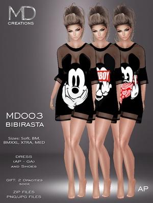 MD003 - Bibirasta