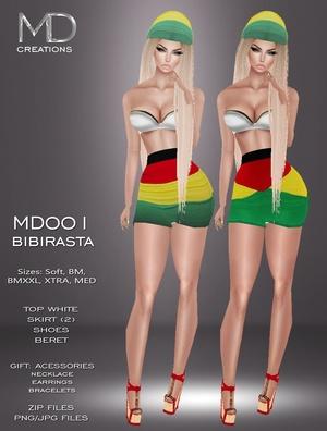 MD001 - Bibirasta