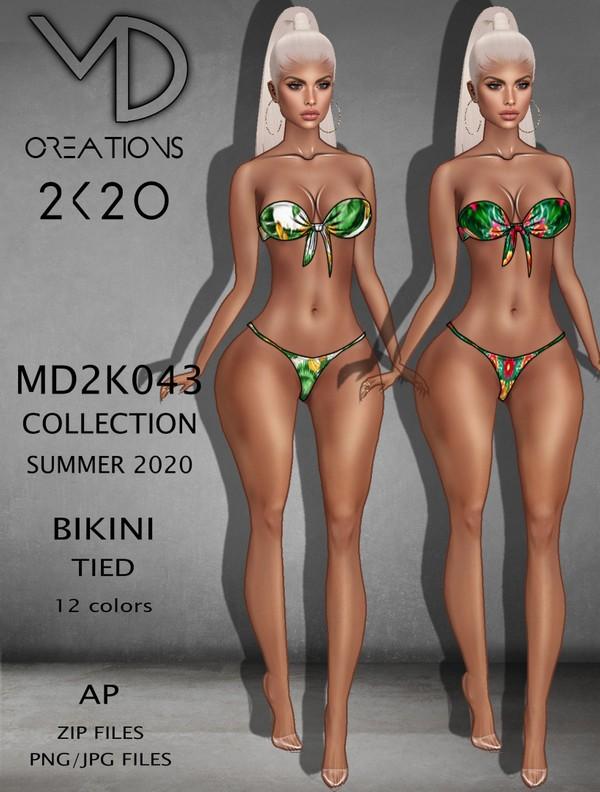 MD 2K043 - Bikini Tied - Summer 2020 Collection - AP - IMVU - Textures