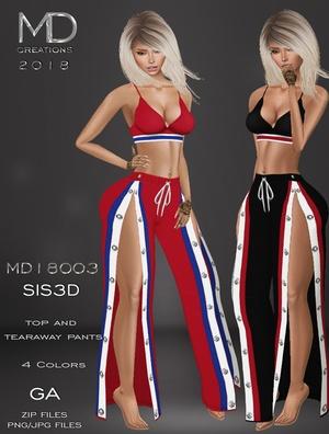 MD18003 - GA - Sis3D