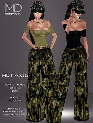 MD17035 - Camouflaged