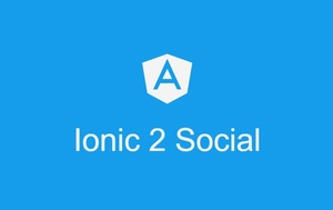 ionic 2 social UI - flat ionic 2 template for social