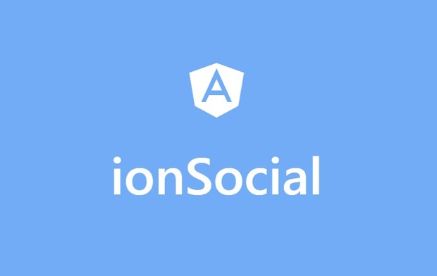 ionSocial - Social flat UI kit for ionic