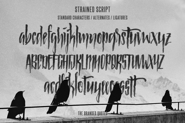 Strained Script
