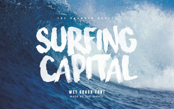 Surfing Capital Font (Upgraded)