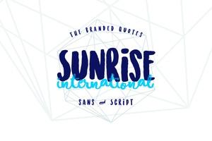 Sunrise International (Typeface)