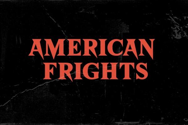 American Frights - Horror Serif