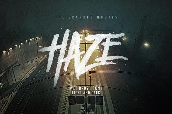 Haze Typeface 2016