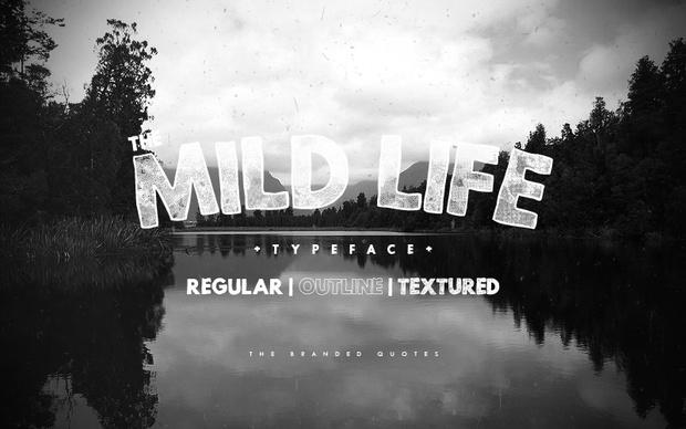 Mild Life Typeface