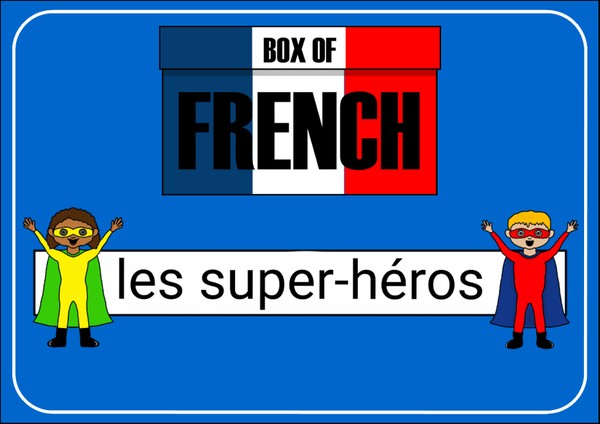 Box of French: Les Super-héros