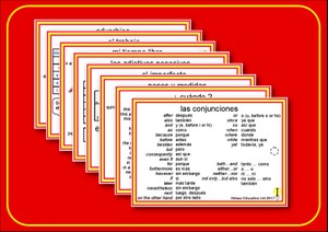 Spanish Pocketcards, set 6