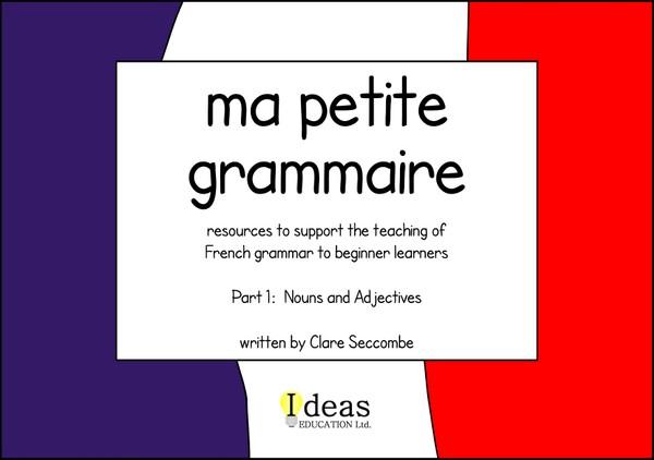 Ma petite grammaire - part 1