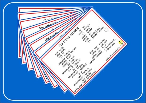 French Pocket Cards, set 6