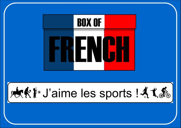 Box of French: J'aime les sports!