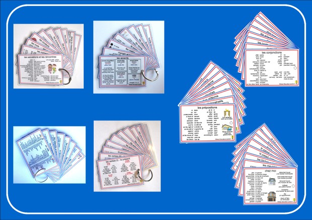 French Pocket Cards, sets 1-7