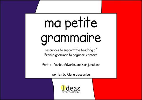 Ma petite grammaire - part 2