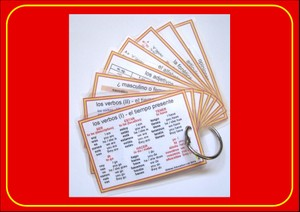 Spanish Pocket Cards - set 2