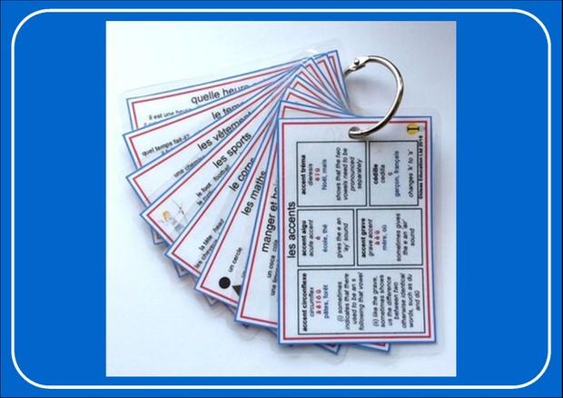 French Pocket Cards, set 3