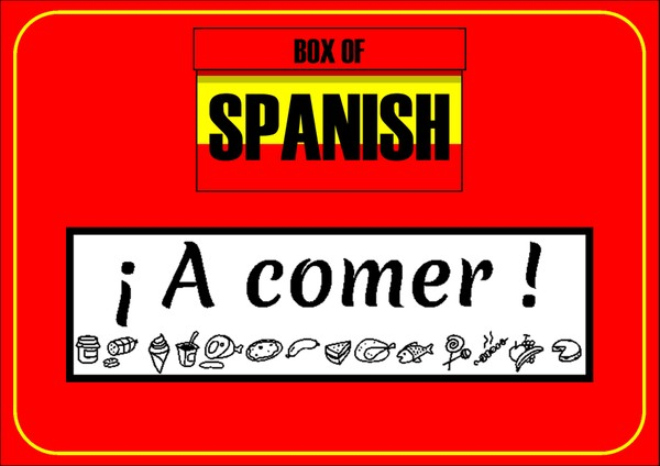 Box of Spanish: ¡A Comer!