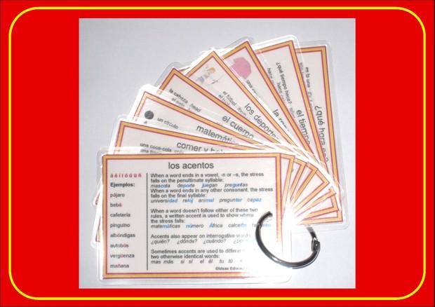 Spanish Pocket Cards, set 3