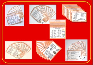 Spanish Pocket Cards, sets 1-7