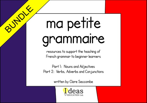 Ma petite grammaire - parts 1 and 2
