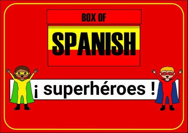 Box of Spanish: ¡Superhéroes!