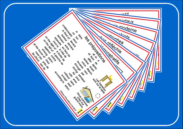 French Pocket Cards, set 7