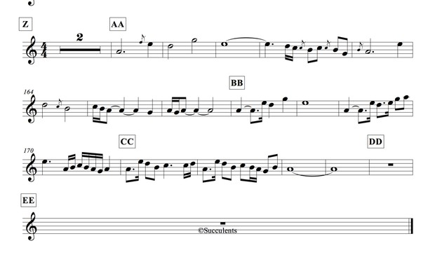 Witcher 3 Medley Sheets